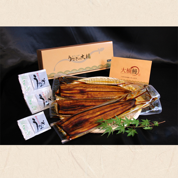 蒲焼(特別3尾セット 約120g x 3尾)