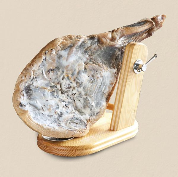 国産天然猪肉ハモンセラーノ(骨付き原木)