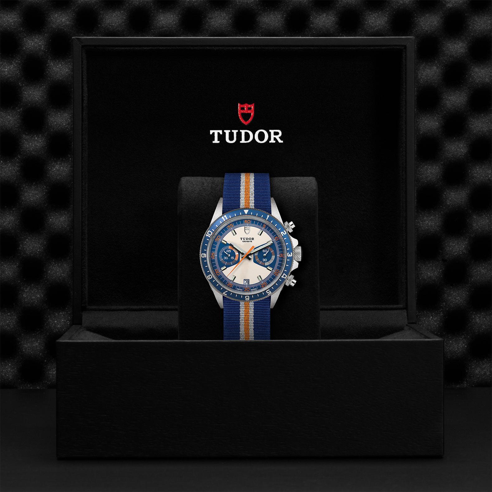 TUDOR チューダー ヘリテージ クロノ ブルー M70330B-0003