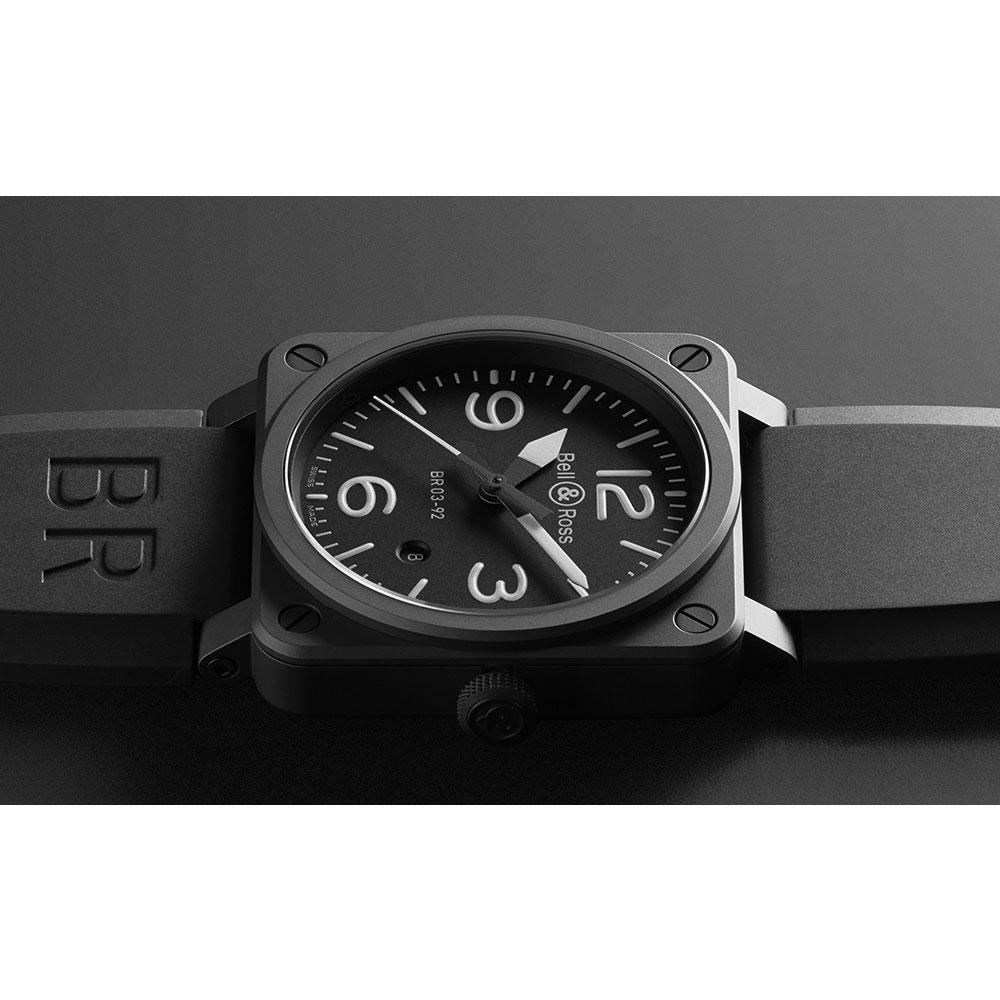 ベル&ロス BR 03-92 BLACK MATTE BR0392-BL-CE/SRB