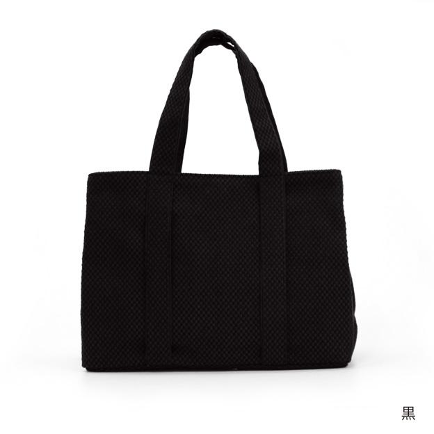刺子織三口トートバッグS 無地 【全4色】