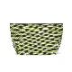 【新作】 刺子織シンプルポーチL(マチあり)  フランス縞 / 薄緑