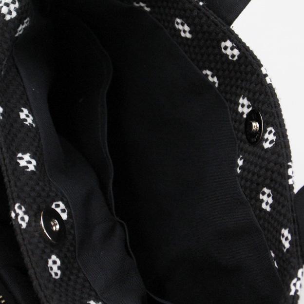 刺子織三口トートバッグS 水玉 【全6色】