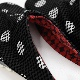 刺子織 足袋サボ 水玉/黒
