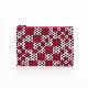 刺子織シンプルポーチS(マチなし) 市松ミックス/ピンク