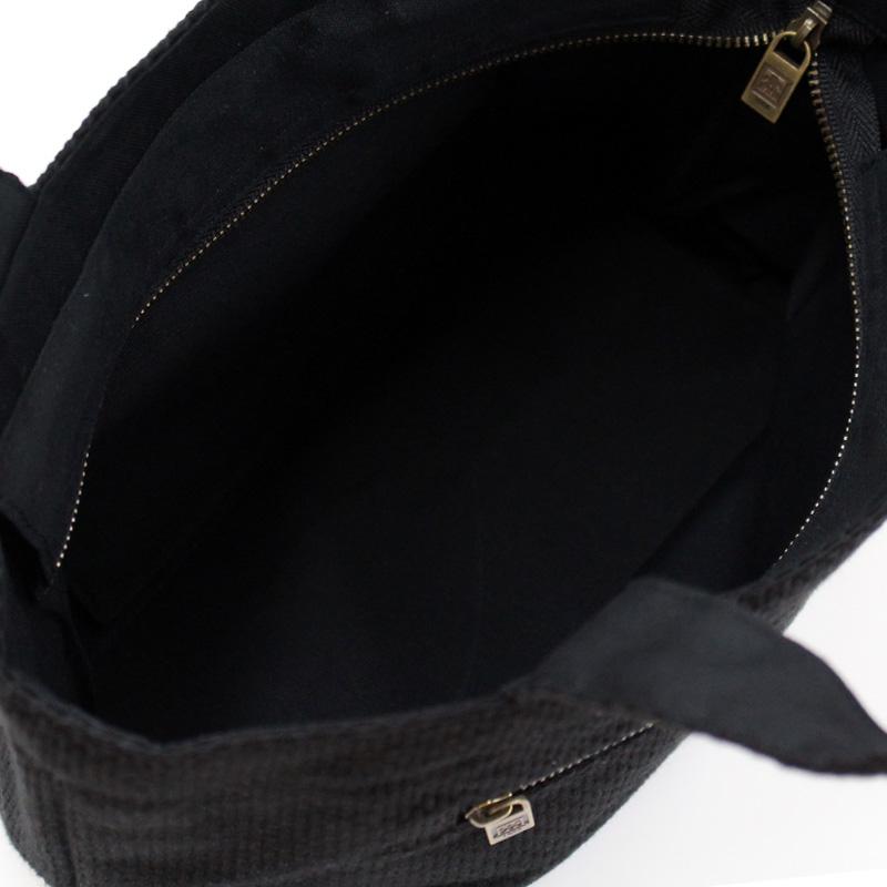 刺子織トートバッグS 千鳥格子