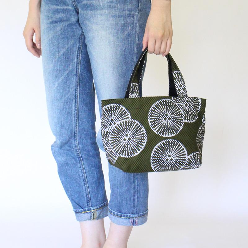 刺子織トートバッグS 重ね松