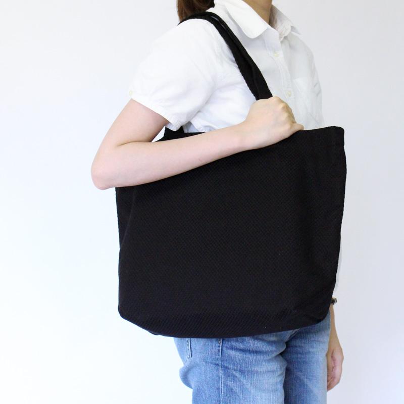 刺子織トートバッグ L 水玉 【全5色】
