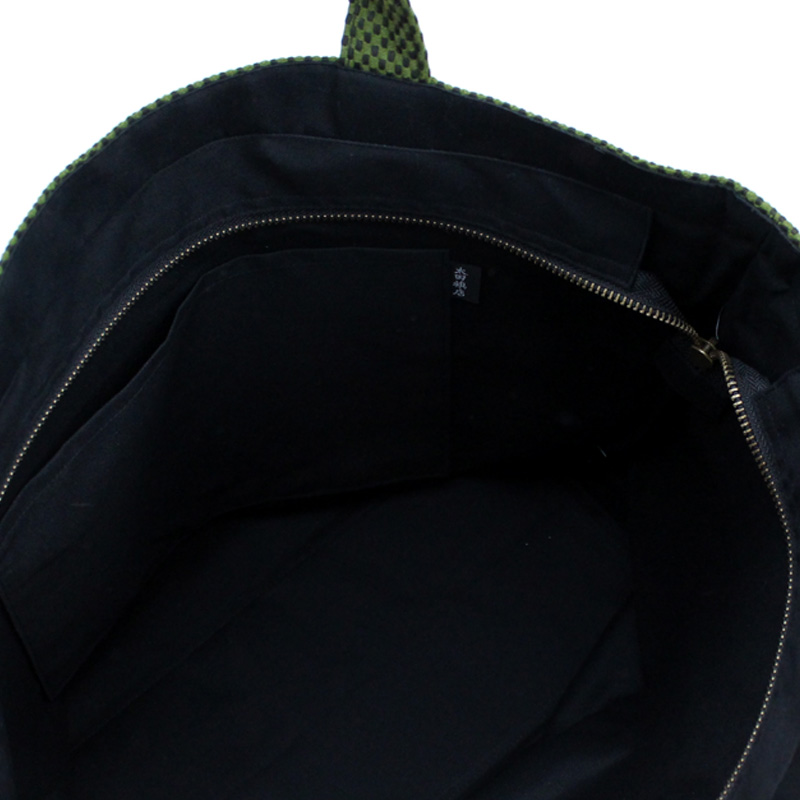 刺子織トートバッグ L クローバー 【全4色】