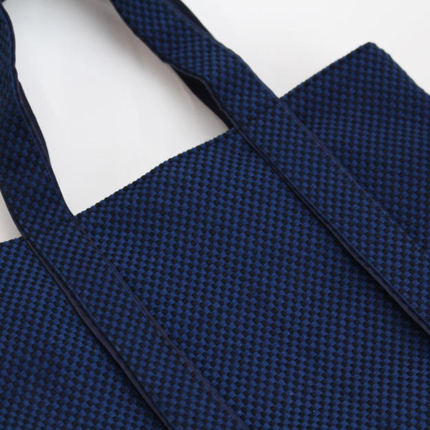 刺子織三口トートバッグS 市松 【全3色】