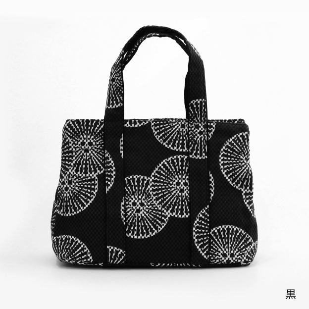 刺子織三口トートバッグS 重ね松 【全4色】