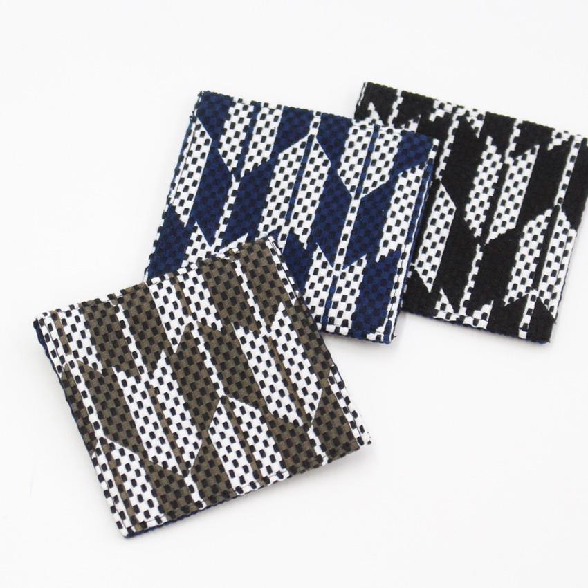 刺子織コースター / 矢繋ぎ 【全3色】