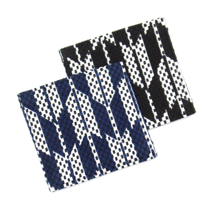 刺子織コースター / 矢繋ぎ 【全2色】