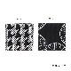 刺子織コースター / 千鳥格子 【全2色】