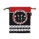 刺子織×消防柄◆巾着袋<一番>