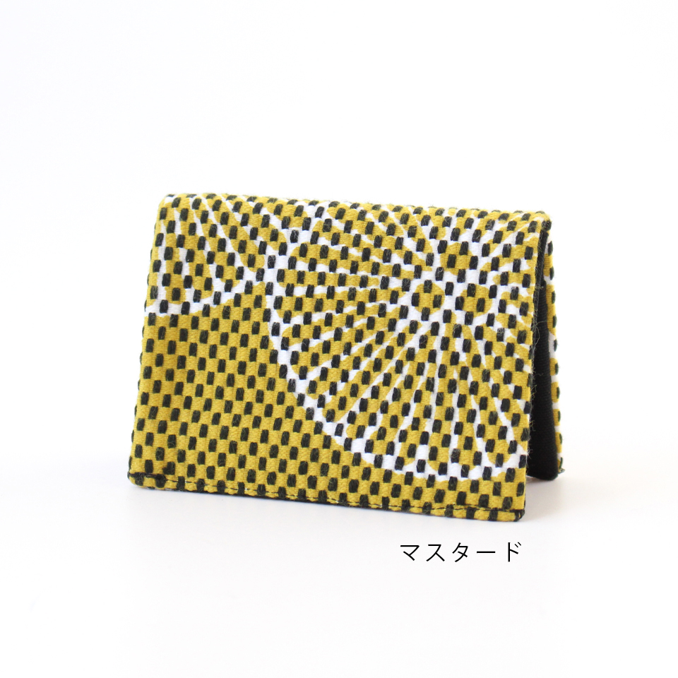 刺子織名刺入れ 重ね松 【全7色】