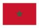 モロッコ 地球にやさしい国旗・外国旗
