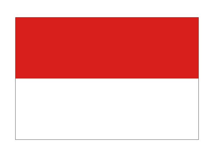 モナコ 地球にやさしい国旗・外国旗