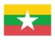ミャンマー 地球にやさしい国旗・外国旗