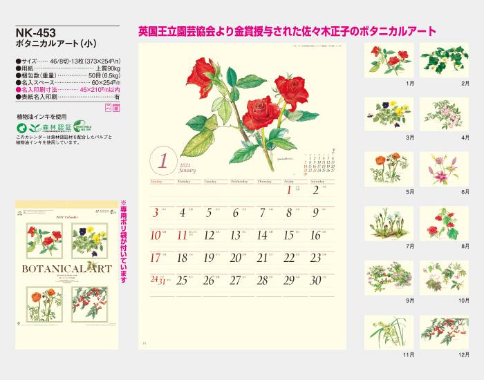 NK453 ボタニカルアート (小)