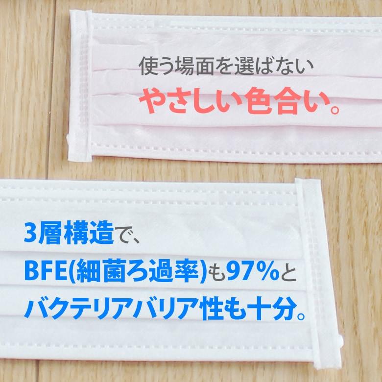 FUJI あんしんマスク スタンダード(M・S) 50枚入り【個包装ではございません】【メール便不可】