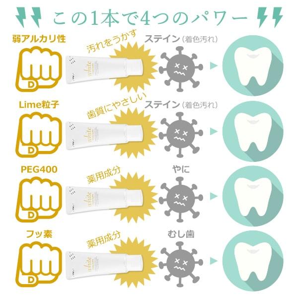 【歯科医院用】ルシェロ 歯みがきペースト ホワイト 100g【ホワイトニング】【医薬部外品】ルシェロホワイト【メール便不可】