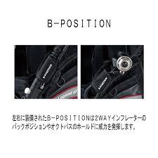 Bism(ビーイズム)エアーBC スタンダードインフレーター使用モデル