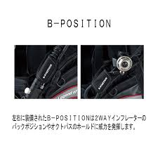 Bism(ビーイズム)エアーBC コンビネーションバルII使用モデル