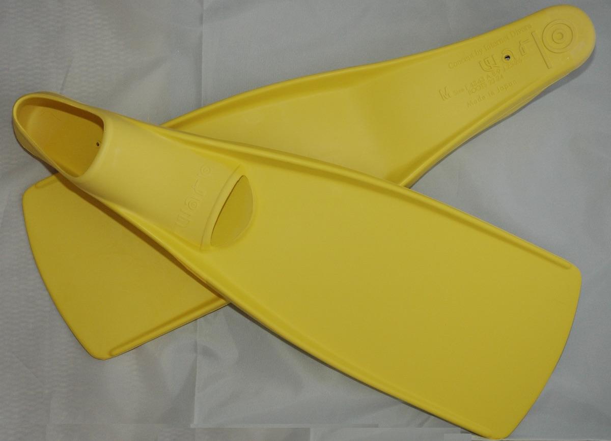 GULL(ガル)ワープフィンレモン M (フルフット用ブーツ付)