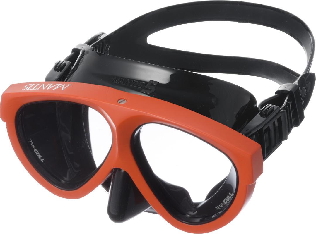 ダイビング用品 マンティス5 ブラックシリコン