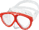 ダイビング用品 GULL マンティス5 シリコン マスク