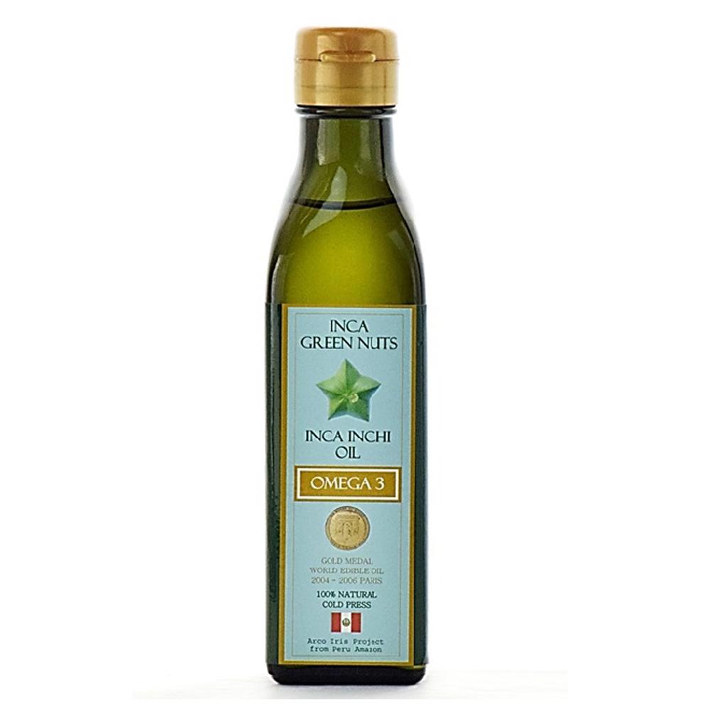 サチャインチオイル インカインチオイル 180g インカグリーンナッツオイル エクストラバージン オイル オメガ3脂肪酸