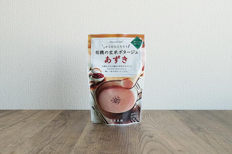 有機の玄米ポタージュ あずき 135g