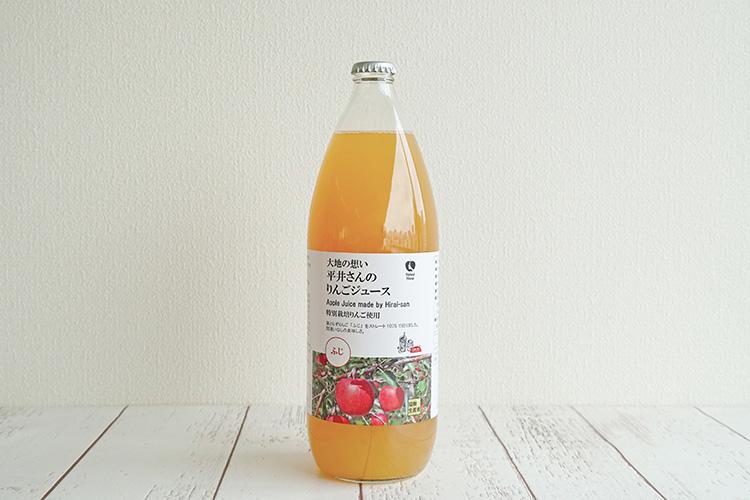 平井さんのりんごジュース ふじ 1L