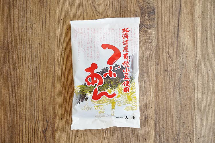 北海道産有機小豆使用つぶあん 200g