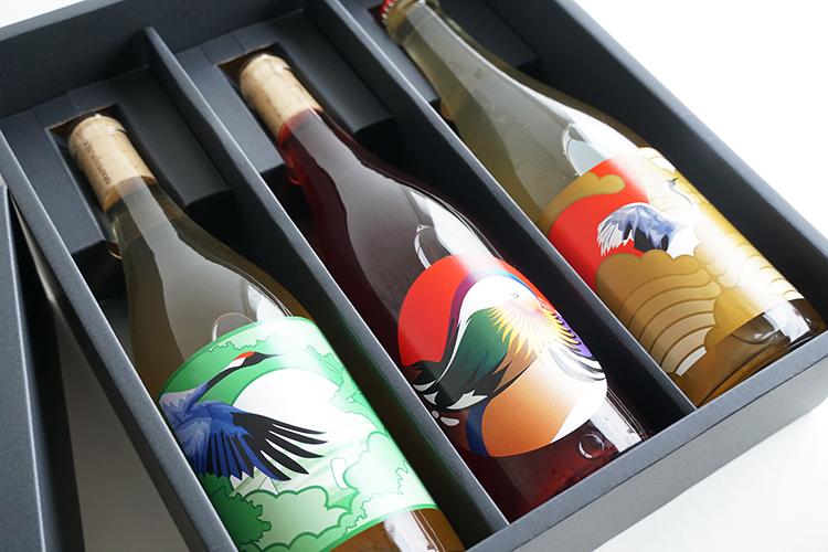 【クール便・ギフト】グレープリパブリック 赤・白・微発泡ワイン3本セット