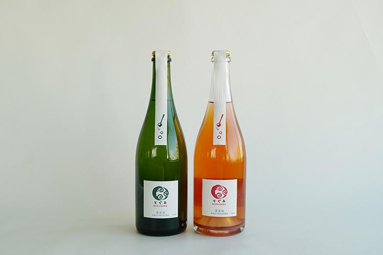 【ギフト】丹波ワイン てぐみ(白・ロゼ)2本セット