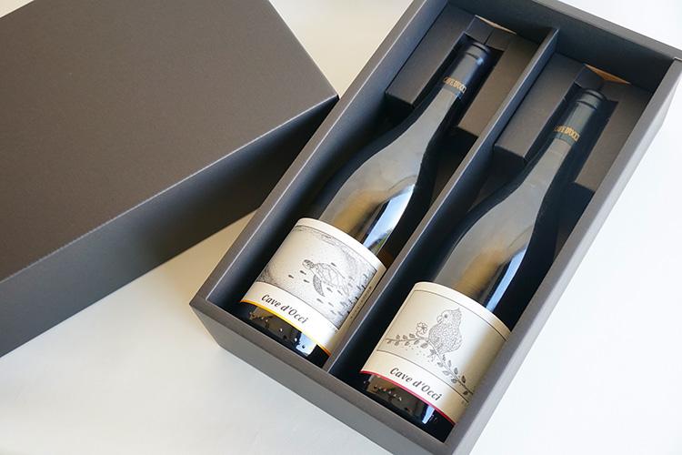 【ギフト】カーブドッチ 赤・白ワイン2本セット