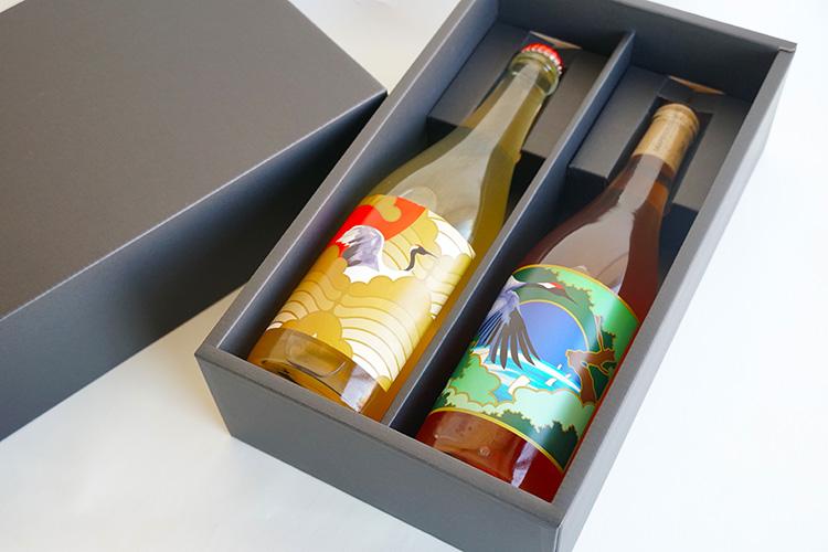 【クール便・ギフト】グレープリパブリック オレンジ・微発泡性ワイン2本セット