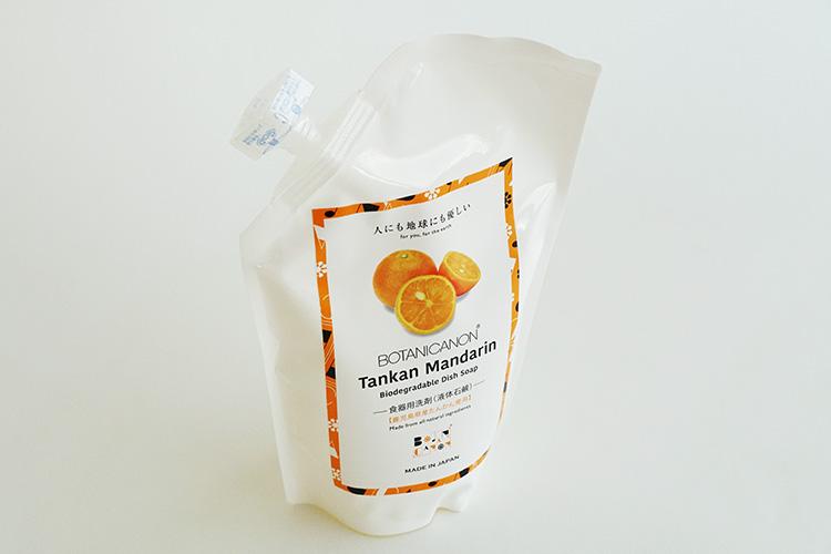 ボタニカノン タンカンマンダリンディッシュソープ(食器洗い用液体石けん) 500ml
