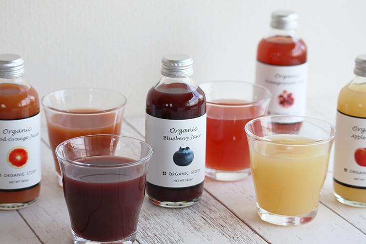オーガニックブルーベリージュース(ビルベリーストレート果汁100%)