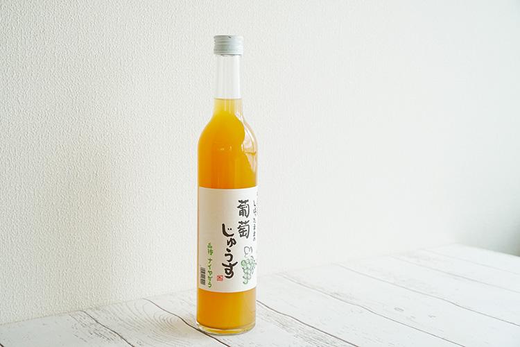 しぼったままの葡萄じゅうす(白) ナイヤガラ 500ml