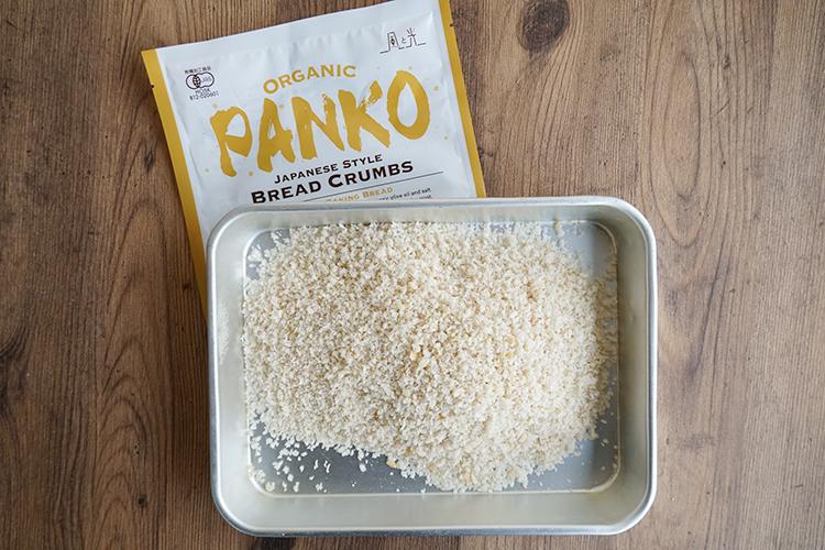 オーガニックパン粉(国産小麦使用)100g