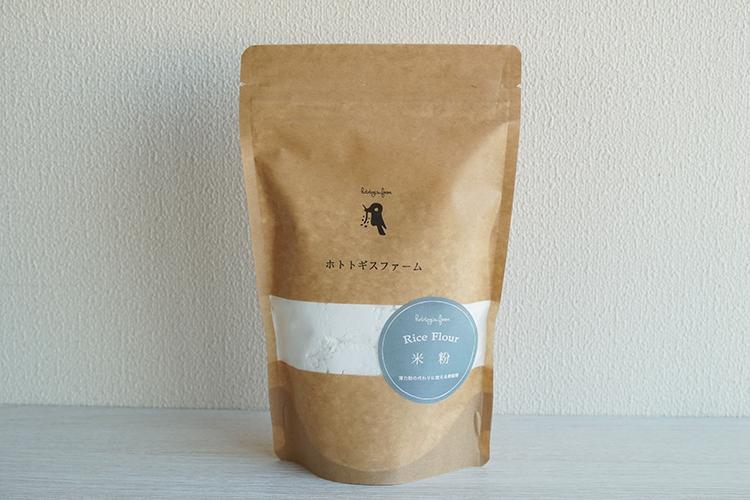 自家栽培米の微細粉米粉 300g