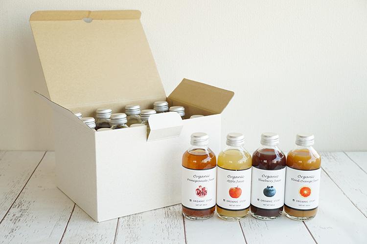【12本セット】オーガニックジュース4種×各3本