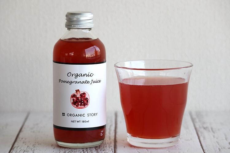 【12本セット】オーガニックざくろジュース(ストレート果汁100%)