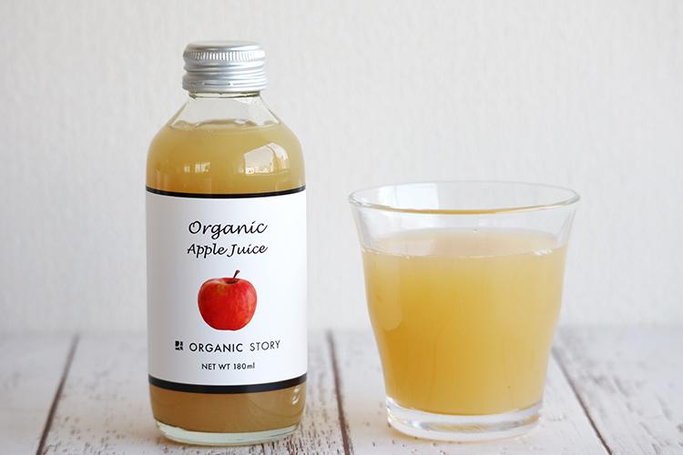 【12本セット】オーガニックりんごジュース(ストレート果汁100%)