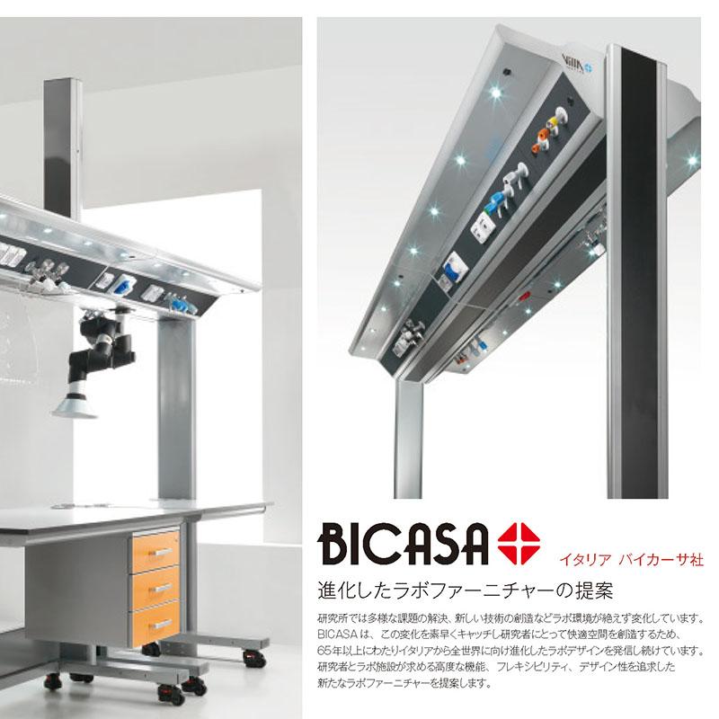 【展示品】IKARO FULL ユーティリティウイング+KOMPATTO SMART サイド実験台4台セット(傷・凹みアリ)