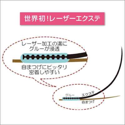 レーザーエクステ ミンクラッシュ Jカール 0.15mm×10mm