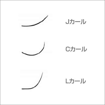 レーザーエクステ ミンクラッシュ Lカール 0.2mm×12mm